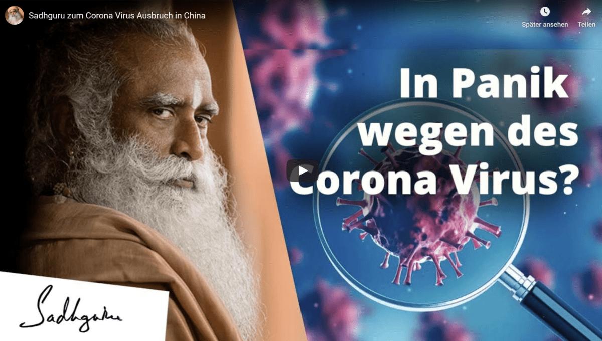 Eine interessante Sichtweise zum Thema Corona Virus -